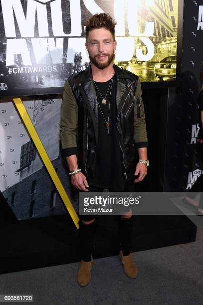 Chris Lane attends the 2017 CMT Music Awards at the Music City Center on June 7 2017 in Nashville Tennessee