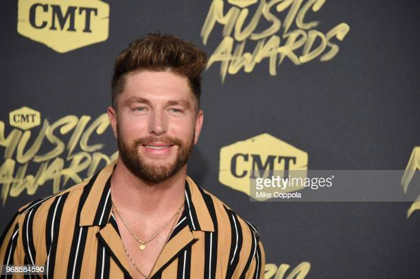 Chris Lane attends the 2018 CMT Music Awards at Bridgestone Arena on June 6 2018 in Nashville Tennessee