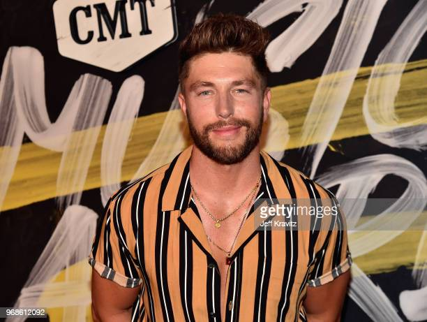 Chris Lane attends the 2018 CMT Music Awards at Nashville Municipal Auditorium on June 6 2018 in Nashville Tennessee