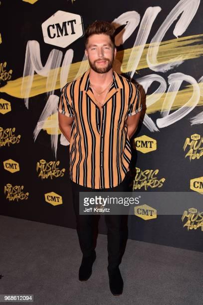 Chris Lane attends the 2018 CMT Music Awards at Nashville Municipal Auditorium on June 6 2018 in Nashville Tennessee