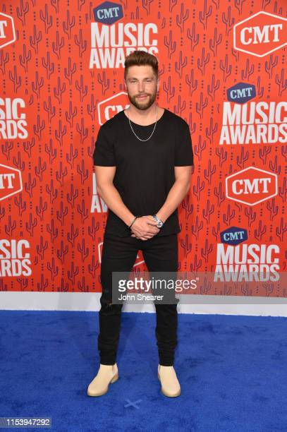 Chris Lane attends the 2019 CMT Music Awards at Bridgestone Arena on June 05 2019 in Nashville Tennessee