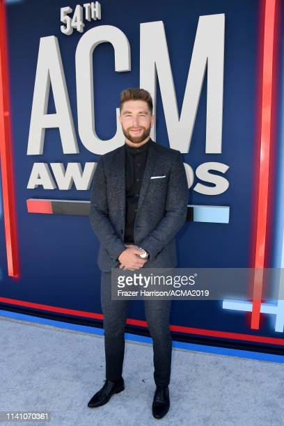 Chris Lane attends the 54th Academy Of Country Music Awards at MGM Grand Hotel Casino on April 07 2019 in Las Vegas Nevada