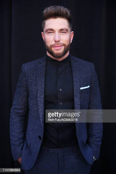 Chris Lane attends the 54th Academy Of Country Music Awards at MGM Grand Garden Arena on April 07 2019 in Las Vegas Nevada