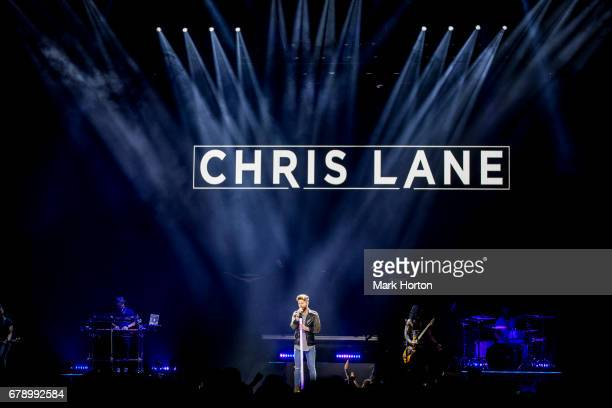 Chris Lane performs during the Dig Your Roots Tour at the Canadian Tire Centre on May 4 2017 in Ottawa Canada