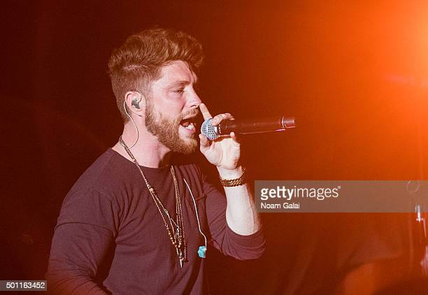 Chris Lane performs in concert at Irving Plaza on December 12 2015 in New York City