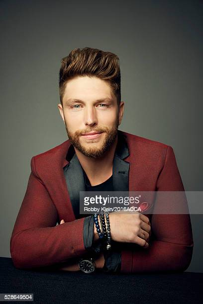 Chris Lane poses for a portrait at the 2016 American Country Countdown Awards Peoplecom on May 1 2016 in Inglewood California