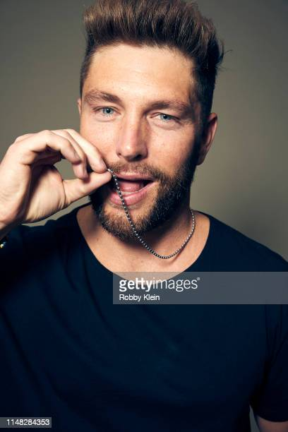 Chris Lane poses for a portrait during the 2019 CMT Music Awards at Bridgestone Arena on June 05 2019 in Nashville Tennessee