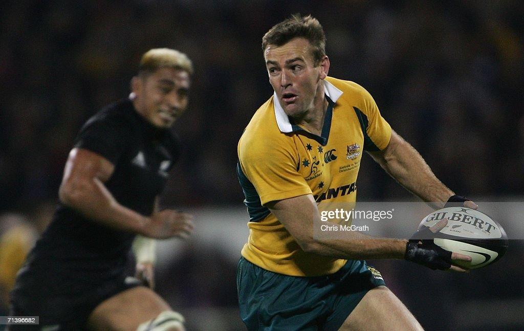 2006 Tri Nations - New Zealand v Australia : News Photo