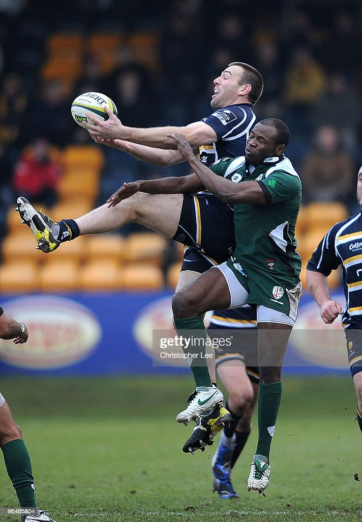 Worcester Warriors v London Irish - LV Anglo Welsh Cup
