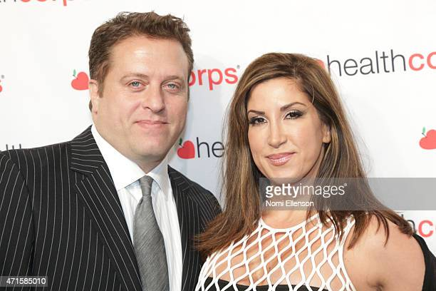 Chris Laurita and Jacqueline Laurita attend the 9th Annual HealthCorps' Gala at Cipriani Wall Street on April 29 2015 in New York City