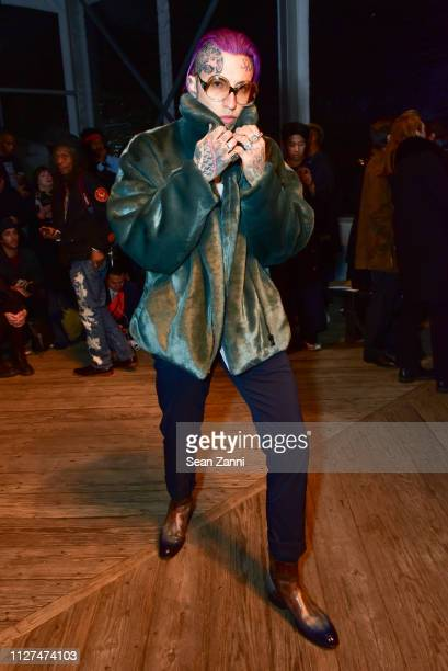 Chris Lavish attends Joseph Abboud Men's FW19 Runway Show at South Street Seaport on February 04 2019 in New York City