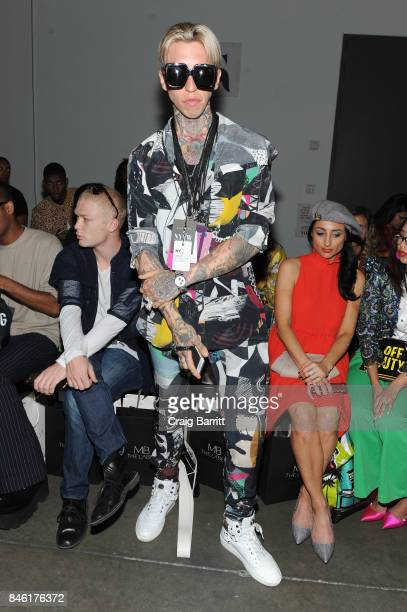 Chris Lavish attends the Fashion Palette New York Fashion Week Spring/Summer 2018 at Pier 59 on September 12 2017 in New York City