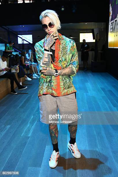 Chris Lavish attends the Gypsy Sport fashion show during New York Fashion Week September 2016 at Samsung 837 on September 11 2016 in New York City