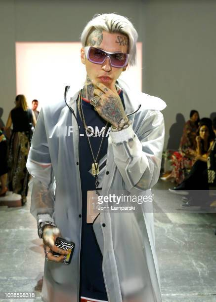 Chris Lavish attends the Indonesian Diversity Front Row during New York Fashion Week The Shows at Industria Studios on September 7 2018 in New York...