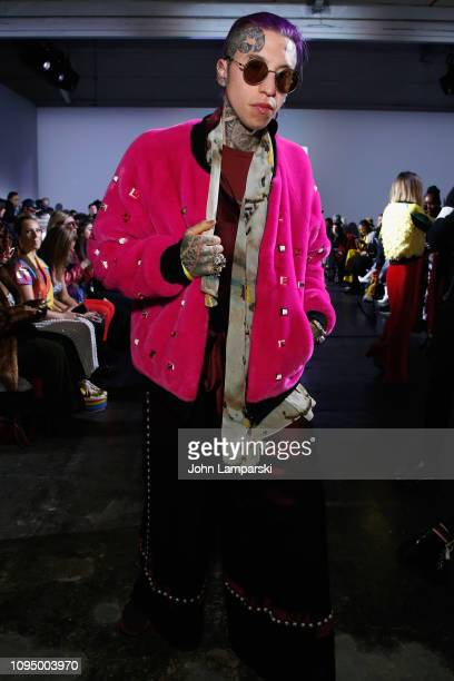 Chris Lavish attends the Indonesian Diversity FW19 Collections 2Madison Avenue Alleira Batik Dian Pelangi and Itang Yunas front row during New York...