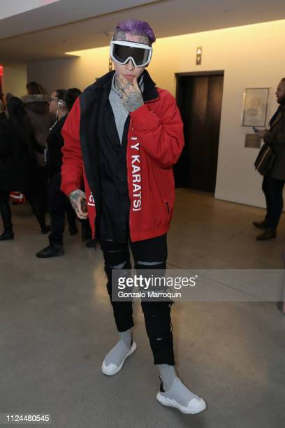 Chris Lavish attends the John John Fashion Show during NYFW at Gallery I at Spring Studios on February 12 2019 in New York City