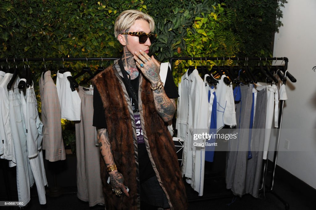 Chris Lavish attends the Whyte Studio NYFW Launch Dinner hosted by Bianca Whyte and Jamie Frankel at Hotel Hugo on September 13, 2017 in New York City.