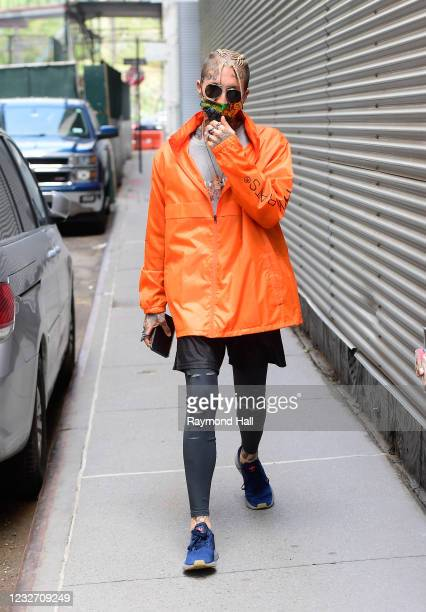Chris Lavish is seen in SoHo on May 4, 2021 in New York City.