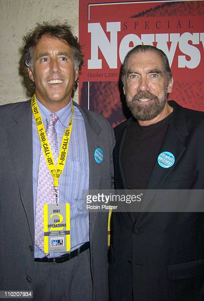 Chris Lawford and John Paul DeJoria during Newsweek Party for The Republican Convention Given by Lally Weymouth at The Four Seasons Restaurant in New...