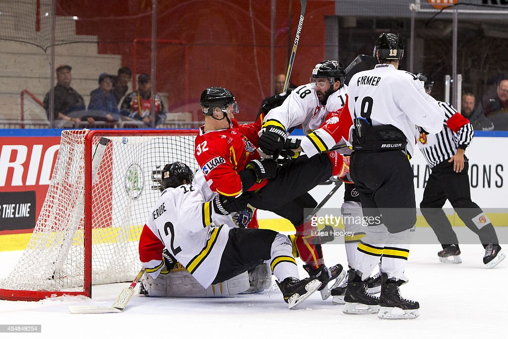 Lulea Hockey v Nottingham Panthers - Champions Hockey League