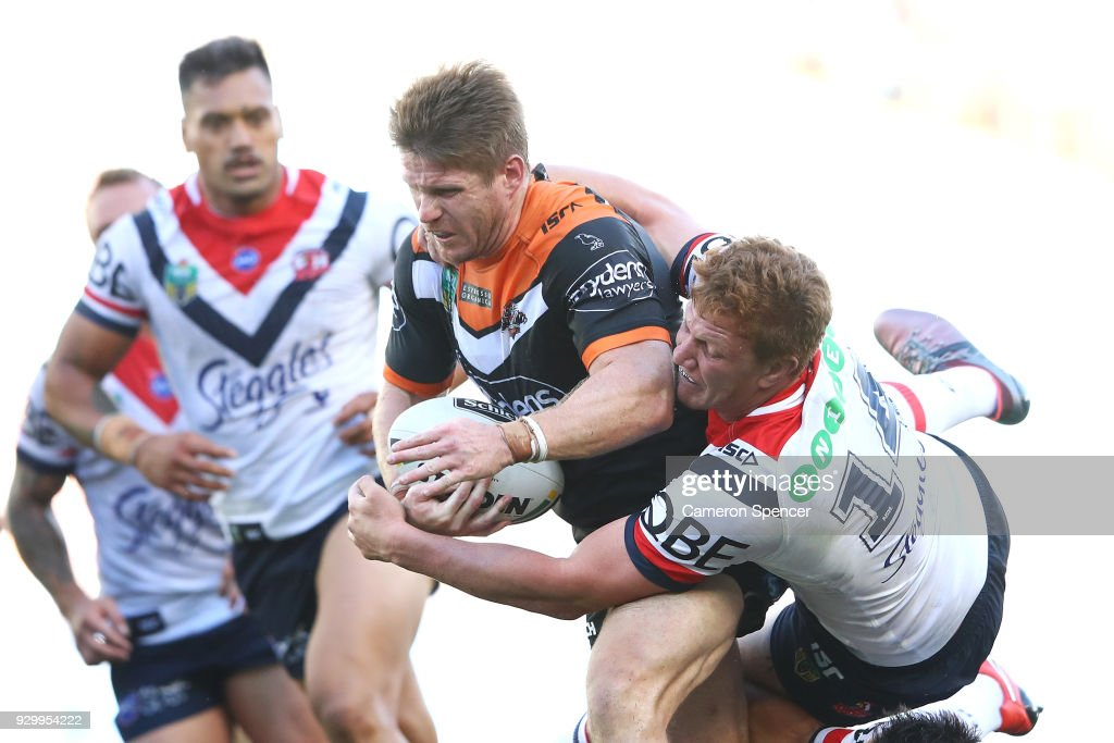 NRL Rd 1 - Tigers v Roosters