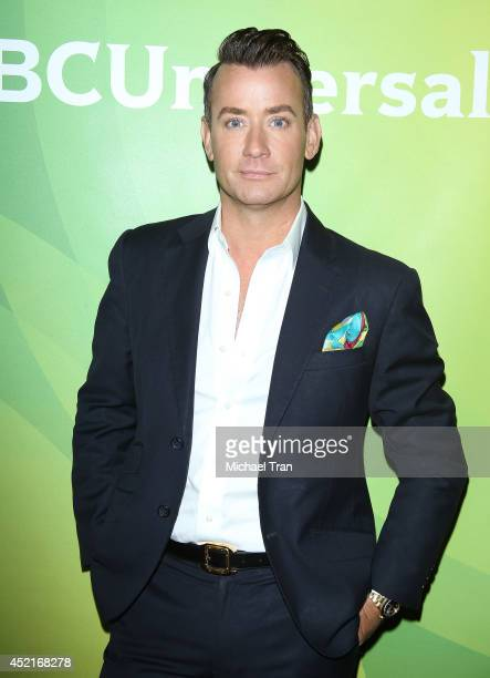 Chris Leavitt arrives at the 2014 Television Critics Association Summer Press Tour - NBCUniversal - Day 2 held at The Beverly Hilton Hotel on July...