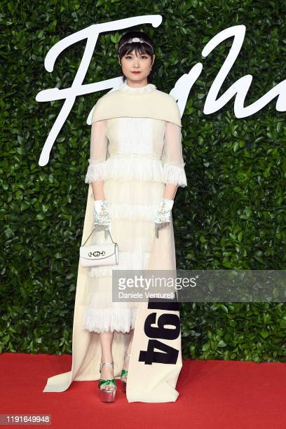 Chris Lee arrives at The Fashion Awards 2019 held at Royal Albert Hall on December 02 2019 in London England