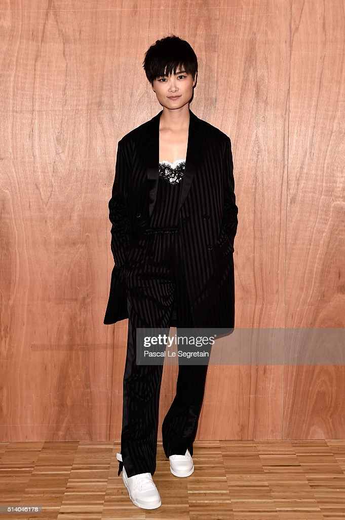 Chris Lee attends the Givenchy show as part of the Paris Fashion Week Womenswear Fall/Winter 2016/2017 on March 6, 2016 in Paris, France.