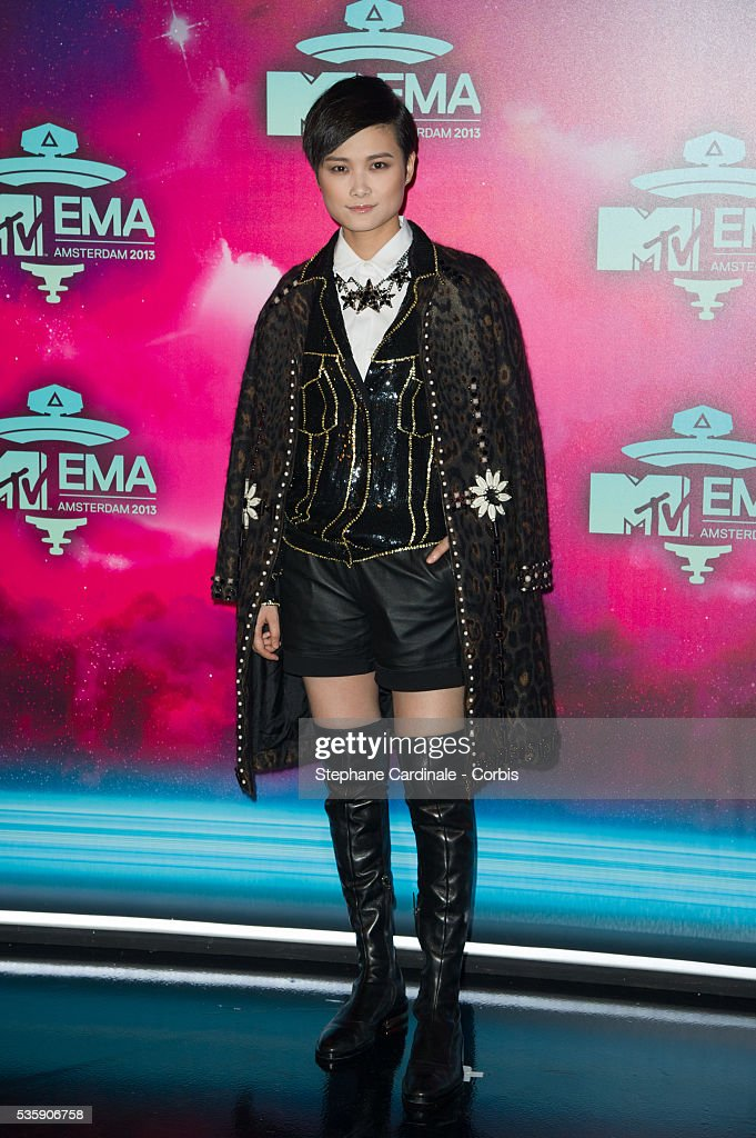 Chris Lee attends the MTV EMA's 2013 at the Ziggo Dome in Amsterdam, Netherlands.