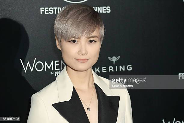 """Chris Lee attends the """"Women in Motion"""" Prize Reception part of The 69th Annual Cannes Film Festival on May 15, 2016 in Cannes, France."""