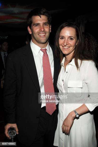 Chris Lentz and Alexandra Walsh attend the Wildlife Conservation Society's Central Park Zoo '09 Gala at the Central Park Zoo on June 10 2009 in New...