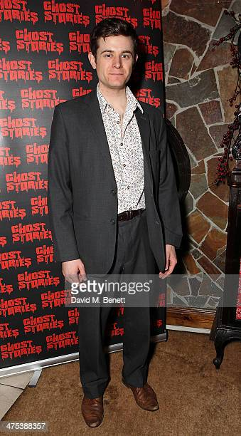 Chris Levens attends the after party for the press night of Ghost Stories at on February 27 2014 in London England