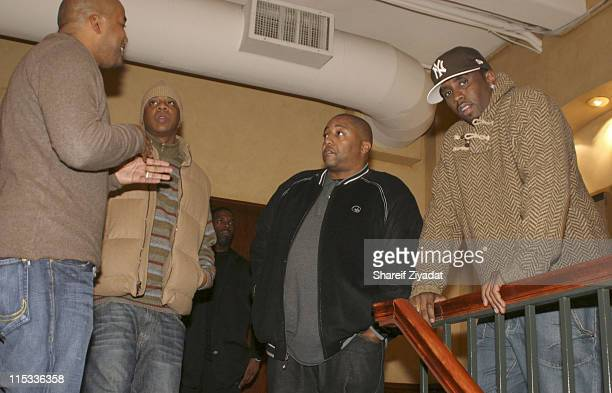 Chris Lighty Jay ZKevin Liles and Sean 'Diddy' Combs