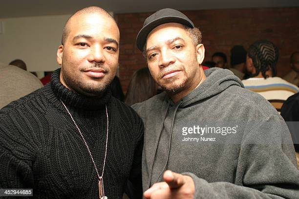 Chris Lighty of Violator and DJ Red Alert during Kim Porter's Birthday Party Hosted By Sean P Diddy Combs at Canal Room in New York City New York...