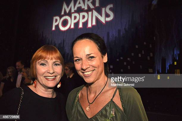 Chris Lohner and Vera Russwurm attend the Mary Poppins musical premiere at Ronacher Theater on October 1 2014 in Vienna Austria