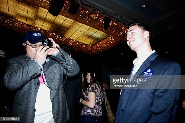 Chris London and Jesse London attend NEW YORK DEMOCRATIC Committee 2008 Election Night Celebration at Sheraton Hotel on November 4 2008 in New York...