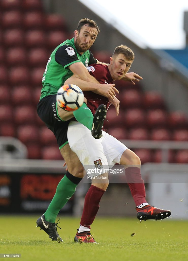 Northampton Town v Scunthorpe United - The Emirates FA Cup First Round