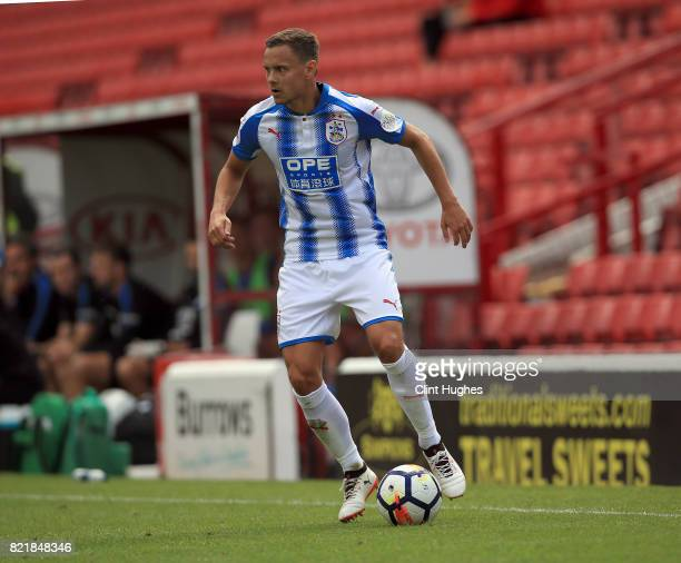 Chris Lowe of Huddersfield Town during the pre season friendly between Barnsley and Huddersfield Town at Oakwell Stadium on July 22 2017 in Barnsley...