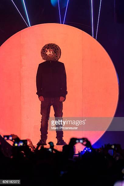Chris Lowe of Pet Shop Boys performs onstage during the Super WorldTour at the Palladium on November 27 2016 in Cologne Germany