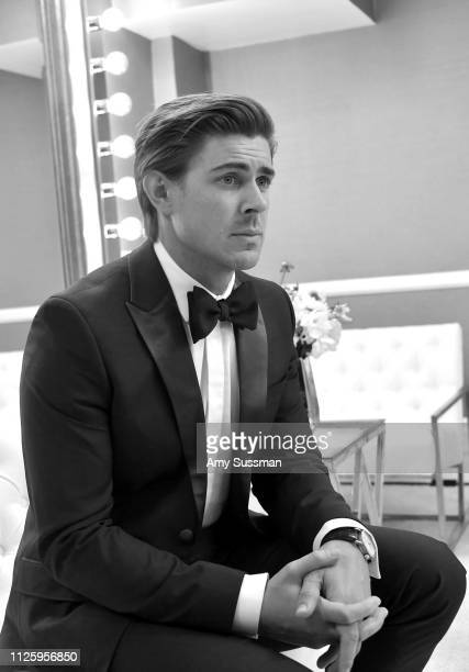 Chris Lowell attends The 21st CDGA at The Beverly Hilton Hotel on February 19 2019 in Beverly Hills California