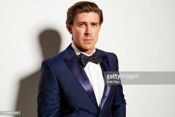 Chris Lowell attends the 21st Costume Designers Guild Awards x Getty Images Portrait Studio presented by LG V40 ThinQ on February 19 2019 in Beverly...