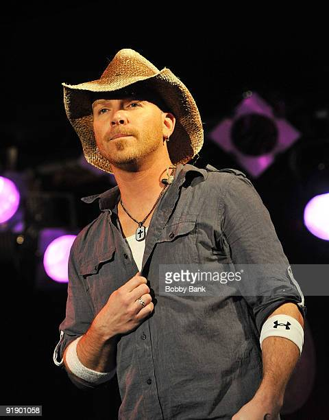 Chris Lucas of LoCash Cowboys performs at BB King Blues Club Grill on October 14 2009 in New York City