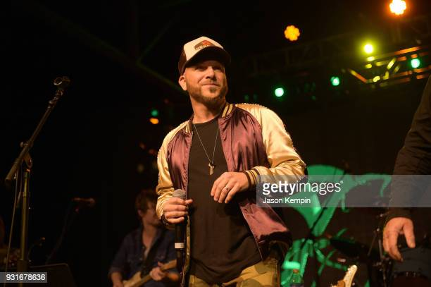 Chris Lucas of LoCash performs at Marathon Music Works on March 13 2018 in Nashville Tennessee