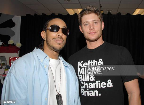 Chris 'Ludacris' Bridges and Jensen Ackles during The 11th Annual Critics' Choice Awards Talent Gift Lounge Produced by On 3 Productions Day One at...