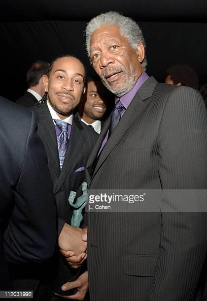 Chris 'Ludacris' Bridges and Morgan Freeman 10612_lc0294jpg