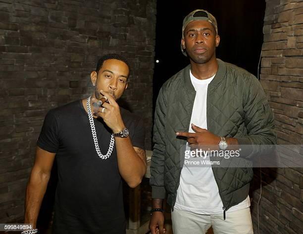 Chris 'Ludacris' Bridges and Silk The Shocker attend ATL Live in The Park at Park Tavern on September 6, 2016 in Atlanta, Georgia.