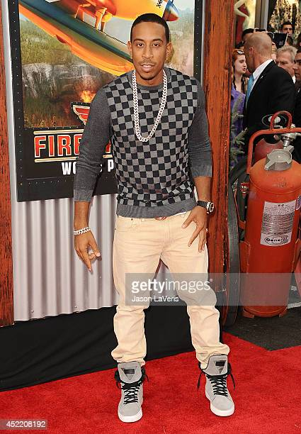 Chris 'Ludacris' Bridges attends the premiere of 'Planes Fire Rescue' at the El Capitan Theatre on July 15 2014 in Hollywood California