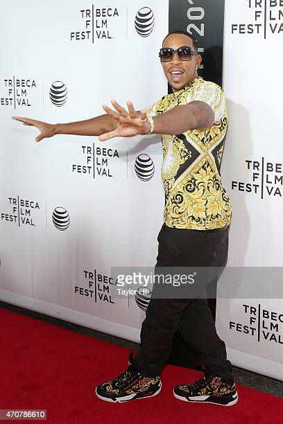 Chris Ludacris Bridges attends the world premiere of Live From New York at The Beacon Theatre on April 15 2015 in New York City