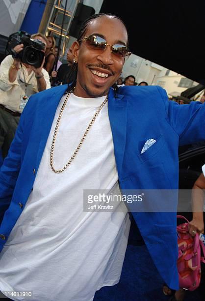 Chris 'Ludacris' Bridges during 2006 MTV Movie Awards Red Carpet at Sony Studios in Culver City California United States