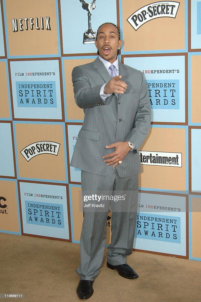 Chris 'Ludacris' Bridges during Film Independent's 2006 Independent Spirit Awards - Arrivals in Santa Monica, California, United States.